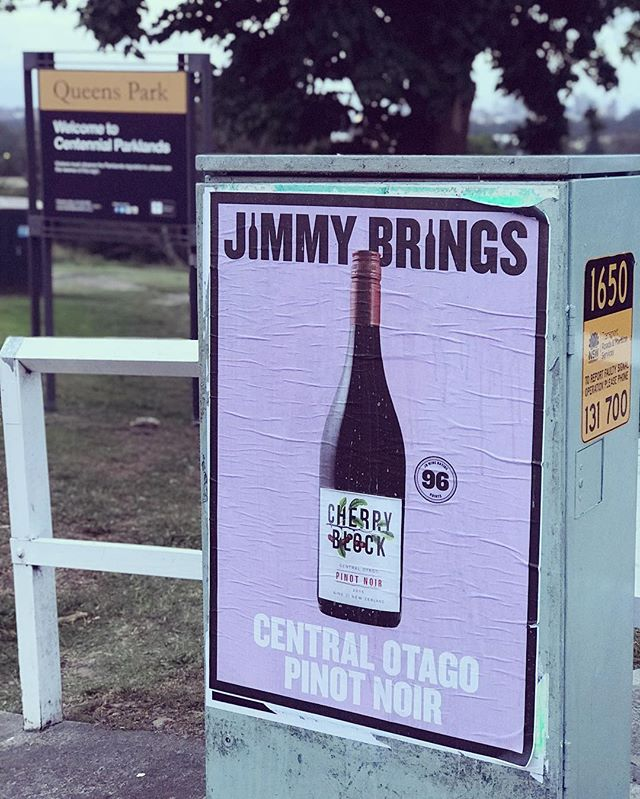 @jimmybrings expertly delivering #CherryBlock wines to lucky Sydneysiders. 🍒◼️🍷