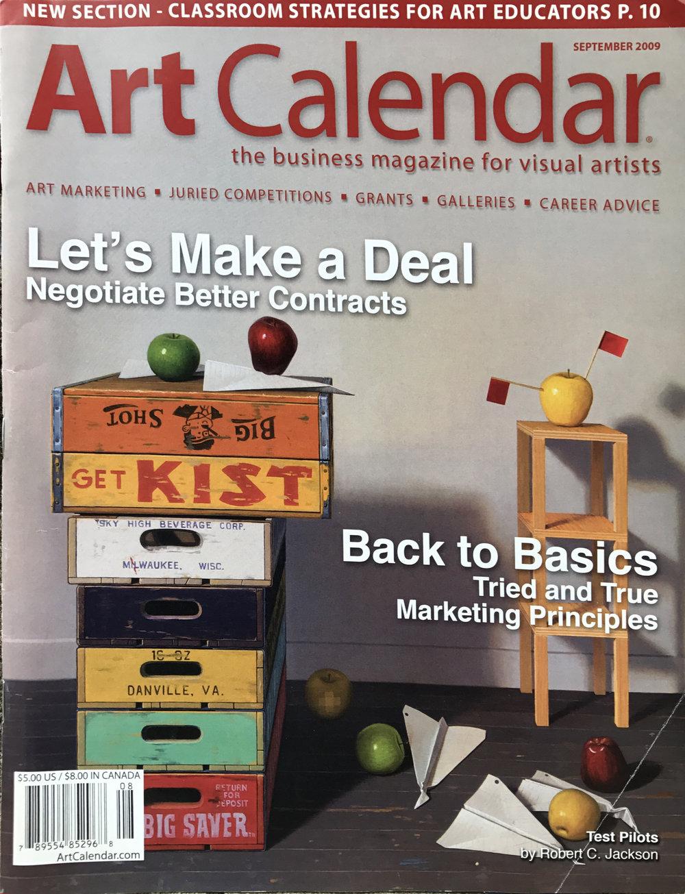 Art Calendar The Business Magazine for Visual Artists