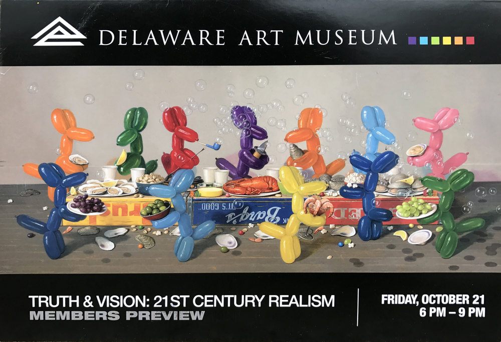 Delaware Art Museum Truth & Vision: 21st Century Realism