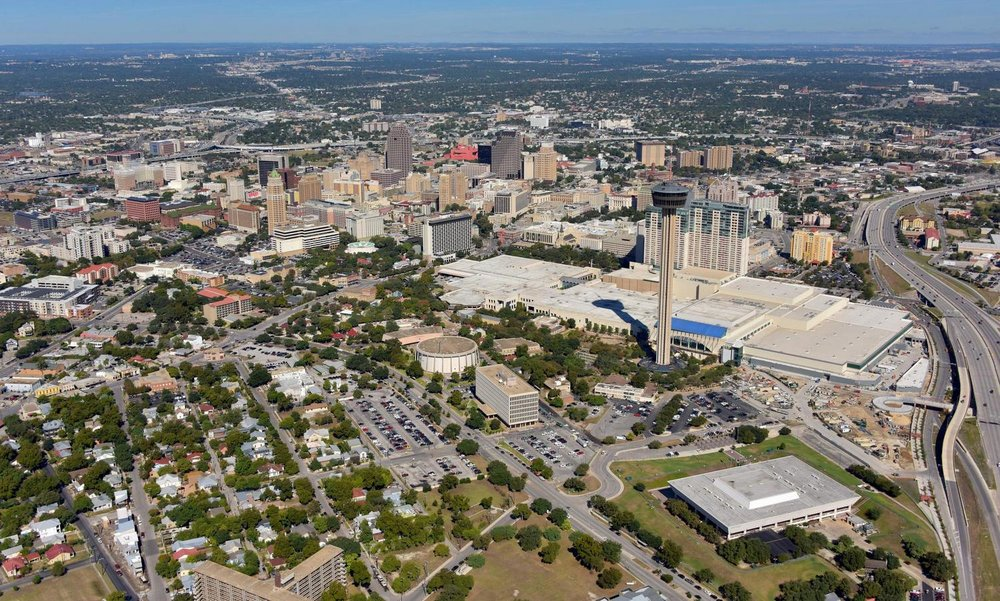 Downtown CBD- San Antonio Aerial Photography - San Antonio Drone Photography - San Antonio Drone Video - San Antonio, TX