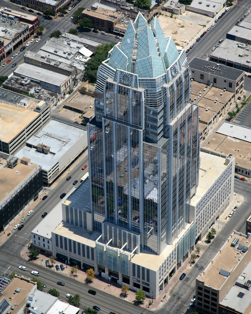 Frost Bank , Austin, Texas - Austin Aerial Photographer - Austin Drone Photography - Austin, TX