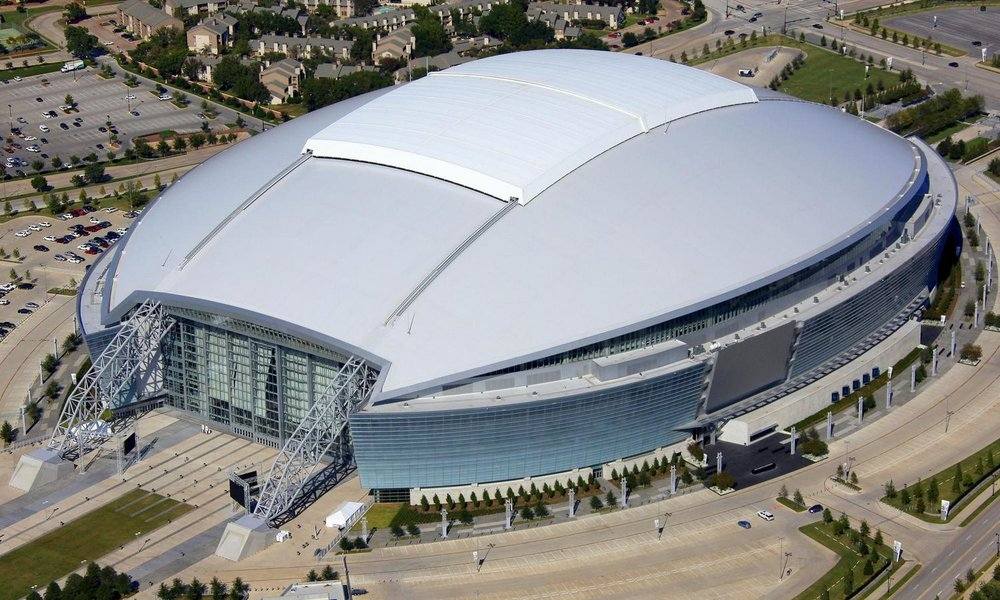 Cowboys Stadium - Dallas Aerial Photography Dallas - Aerial Drone Image - Aerial Drone Video - Dallas - TX