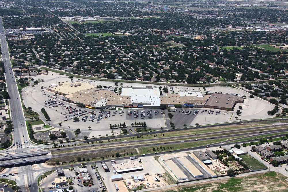 Retail Shopping Mall -  Midland Aerial Photography - Midland Real Estate Photography - Midland, Texas