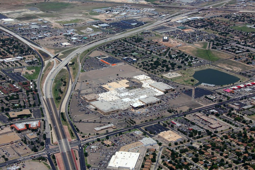 South Plains Mall - Lubbock Aerial Photographer - Aerial Drone Image - Aerial Drone Video - Lubbock, TX - West Texas