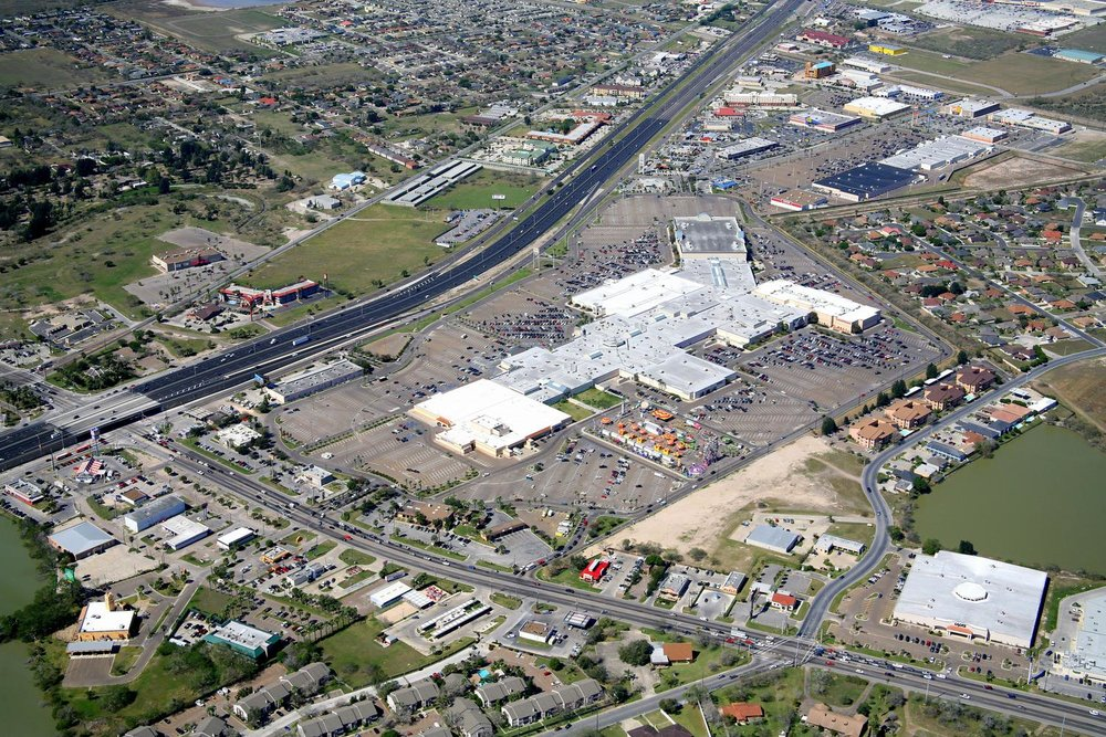 Sunrise Mall , Brownsville, Texas - Brownsville Aerial Photography - Brownsville Aerial Photographer - Brownsville, TX - Rio Grande Valley, Texas