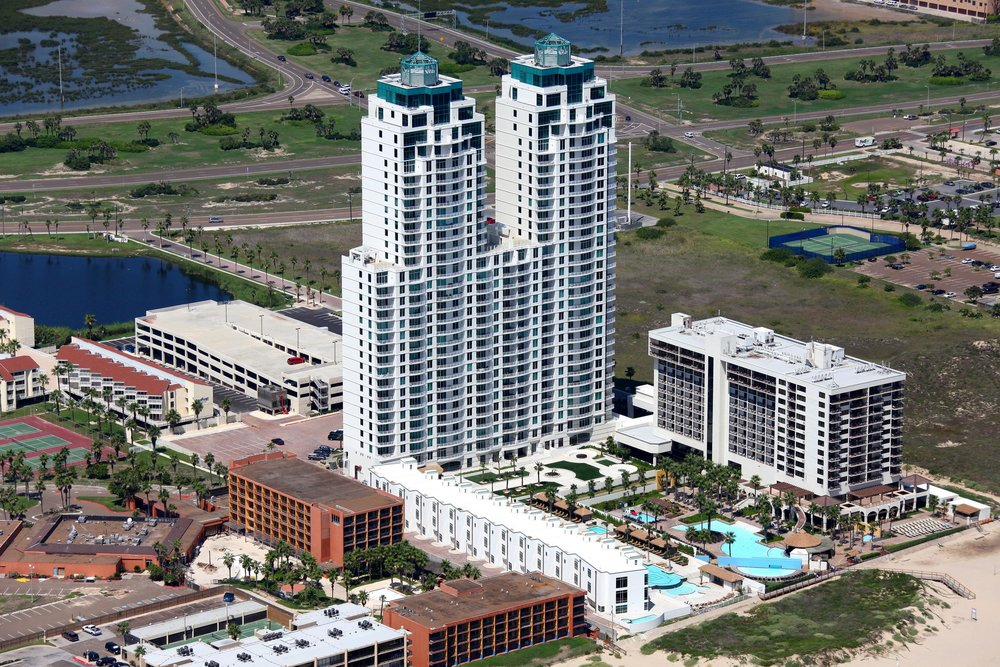 Sapphire Condo - South Padre Island Aerial Photographer - Aerial Drone Image - Aerial Drone Video - South Padre Island, TX - Rio Grande Valley, Texas