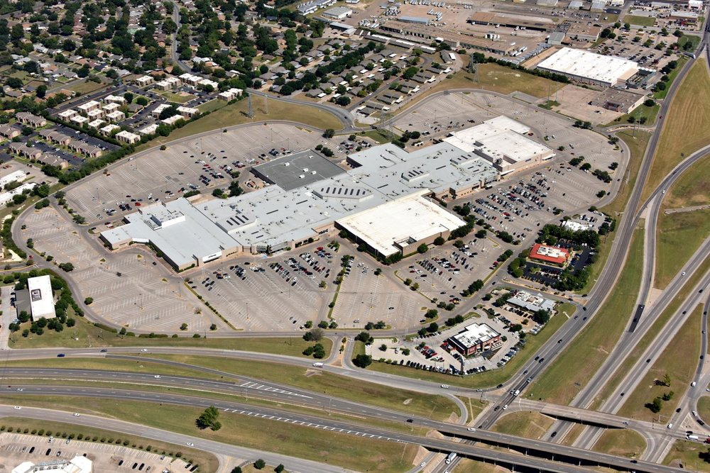 Richland Mall  - Waco Aerial Photographer - Aerial Drone Image - Aerial Drone Video - Waco, TX - Texas