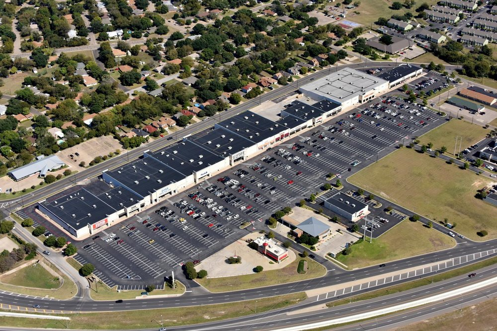 Retail Shopping Center  , Temple, Texas   - Temple Aerial Photographer - Aerial Drone Image - Aerial Drone Video - Temple, TX - Central Texas