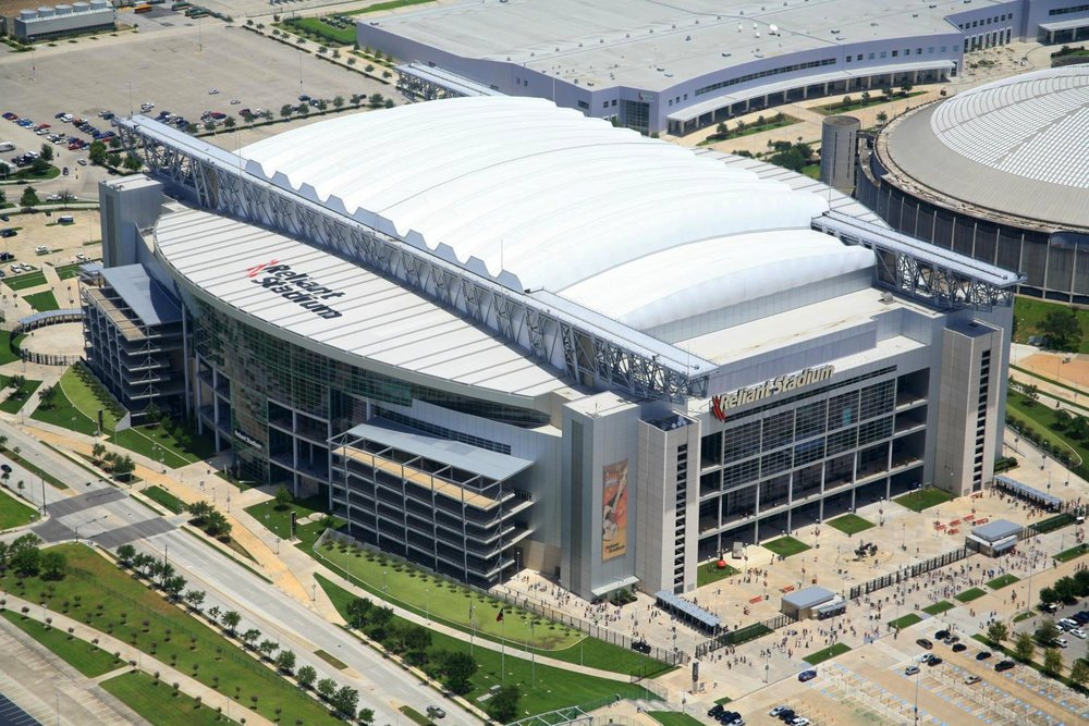 Reliant Stadium (now NRG Stadium) - Houston Aerial Photography - Houston Drone Photography - Houston, TX
