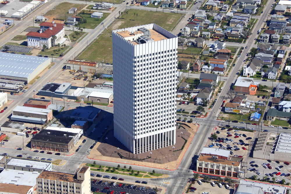 Frost Bank, Galveston, Texas - Galveston Aerial Photographer - Aerial Drone Image - Aerial Drone Video - Galveston, TX