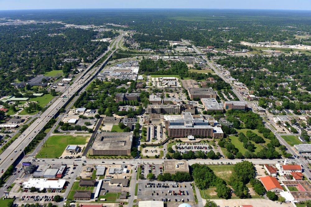Christus Medical Center, Beaumont, Texas - Beaumont Aerial Photographer - Port Arthur Aerial Drone Image - Orange Aerial Drone Video - Beaumont, TX - East Texas
