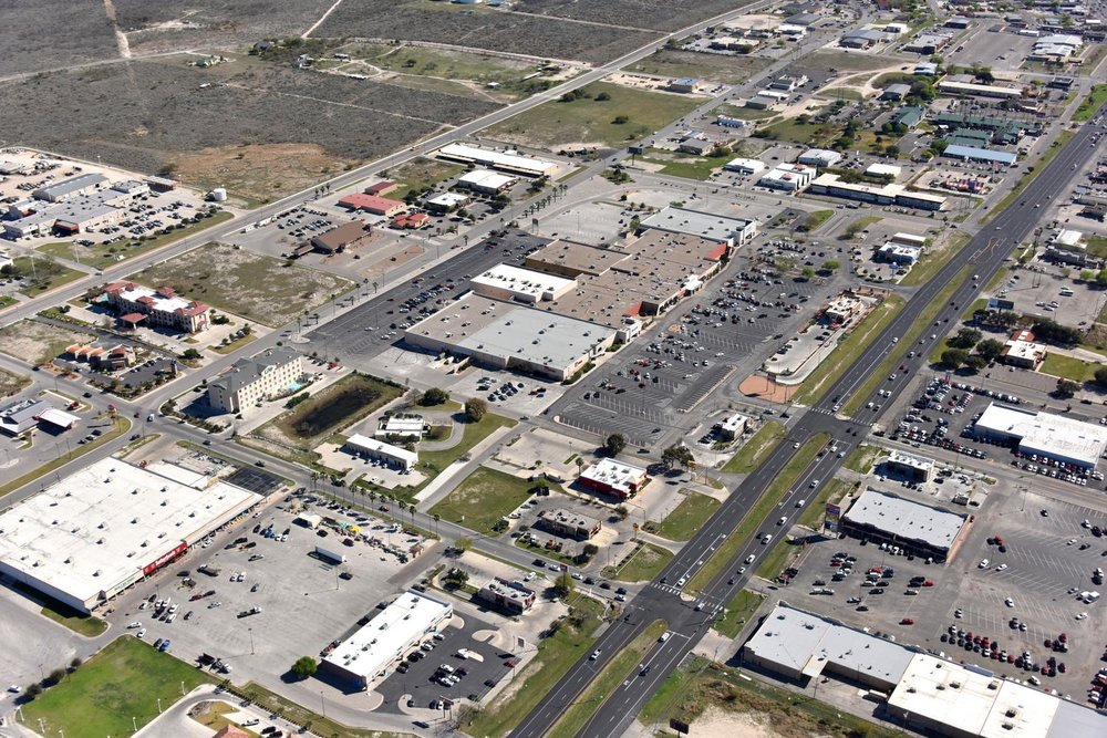 Plaza Del Sol Mall, Del Rio, Texas - Eagle Pass Aerial Photographer - Eagle Pass Drone Image - Eagle Pass, TX - South Texas