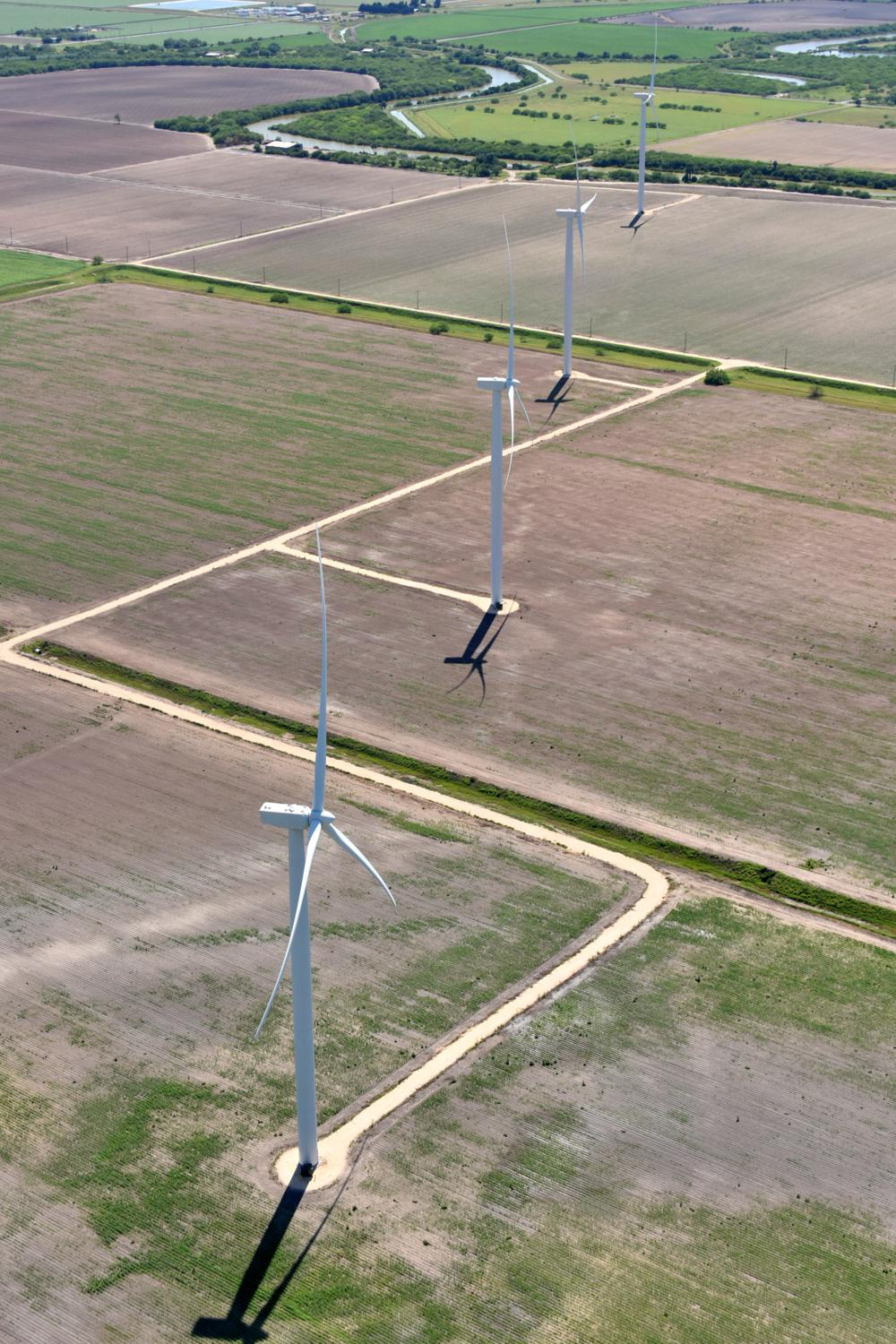 Texas energy photography, aerial, drone, oil and gas, solar, wind energy, Harlingen, TX