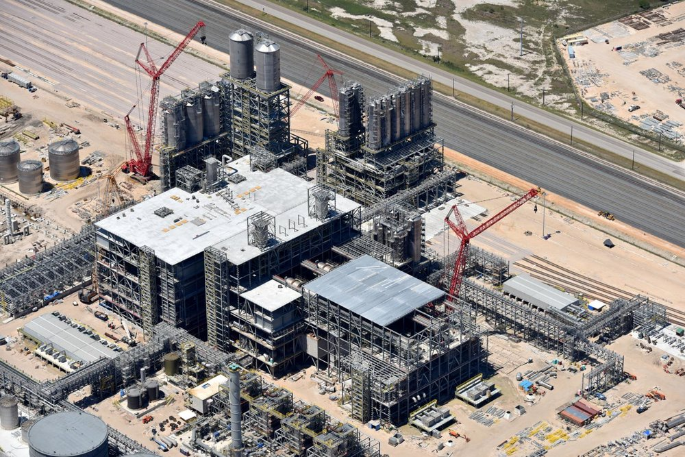 Texas energy photography, aerial, drone, oil and gas, solar, wind energy, refinery construction, Corpus Christi, TX