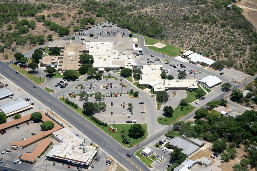 Uvalde Memorial Hospital, Uvalde, Texas - Uvalde Aerial Photographer - Uvalde Aerial Drone Image - Aerial Drone Video - Uvalde, TX - South Texas