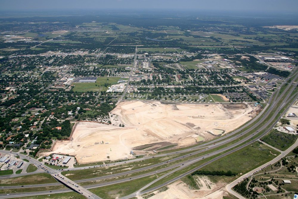 Retail Construction Progress, Killeen, Texas - Fort Hood Aerial Photographer - Killeen Aerial Drone Image - Aerial Drone Video - Killeen, TX - Central Texas