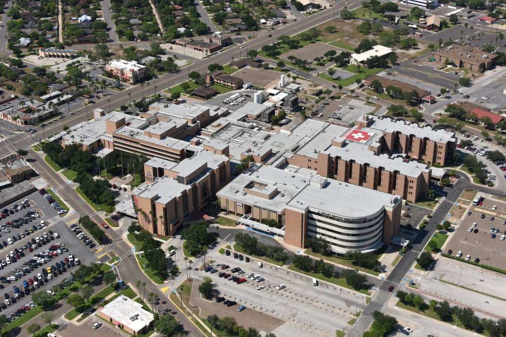 Valley Baptist Medical Center , Harlingen, Texas - Harlingen Aerial Photographer - Aerial Drone Image - Aerial Drone Video - Harlingen, TX - Rio Grande Valley, Texas
