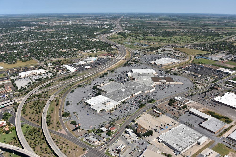 Valle Vista Mall , Harlingen, Texas - Harlingen Aerial Photographer - Aerial Drone Image - Aerial Drone Video - Harlingen, TX - Rio Grande Valley, Texas