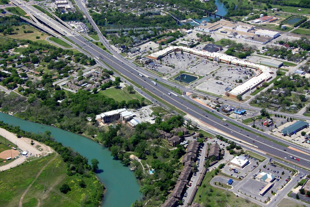 New Braunfels Marketplace, New Braunfels, Texas - New Braunfels Aerial Photographer - Aerial Drone Image - Aerial Drone Video - New Braunfels, TX - Comal County, Texas