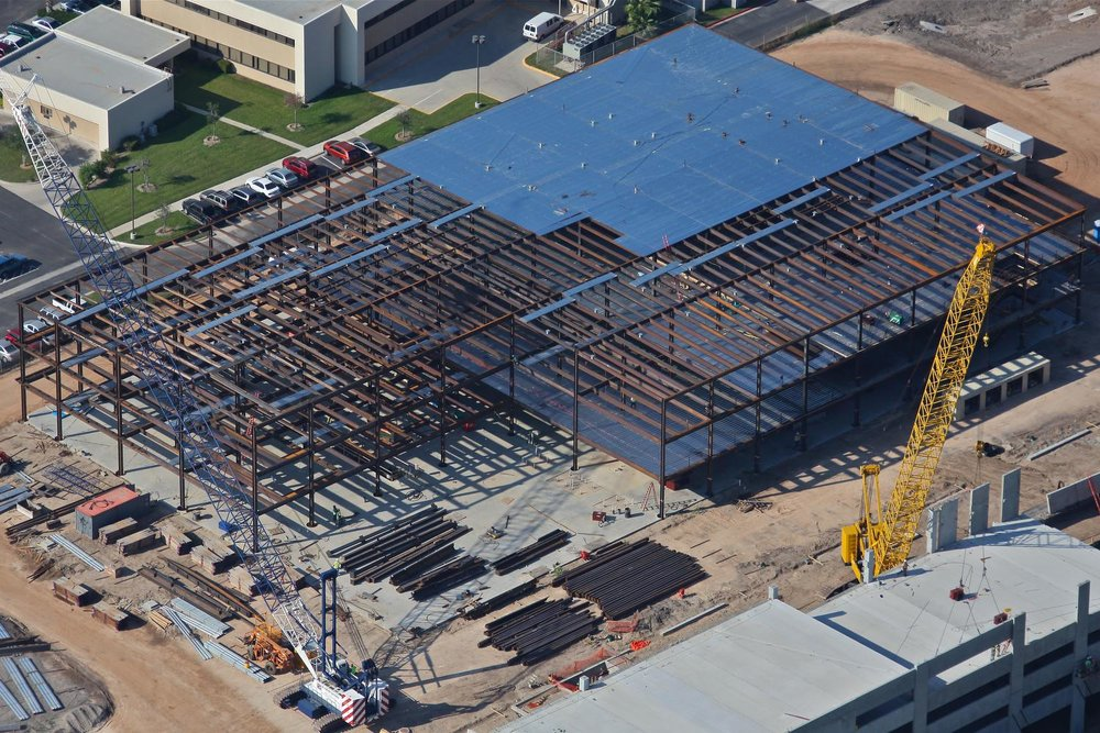 Construction Progress Photo, Harlingen, Texas - Harlingen Aerial Photography - Aerial Drone Image - Harlingen, TX