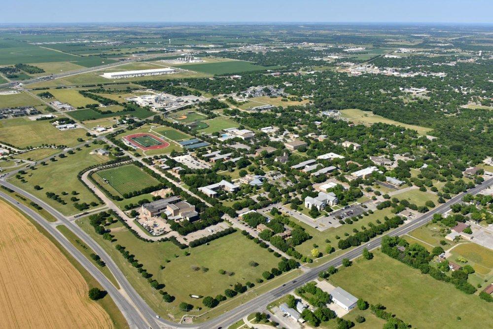 Texas Lutheran University, Seguin, Texas - Seguin Aerial Photographer - Aerial Drone Image - Aerial Drone Video - Seguin, TX - Guadalupe County, Texas