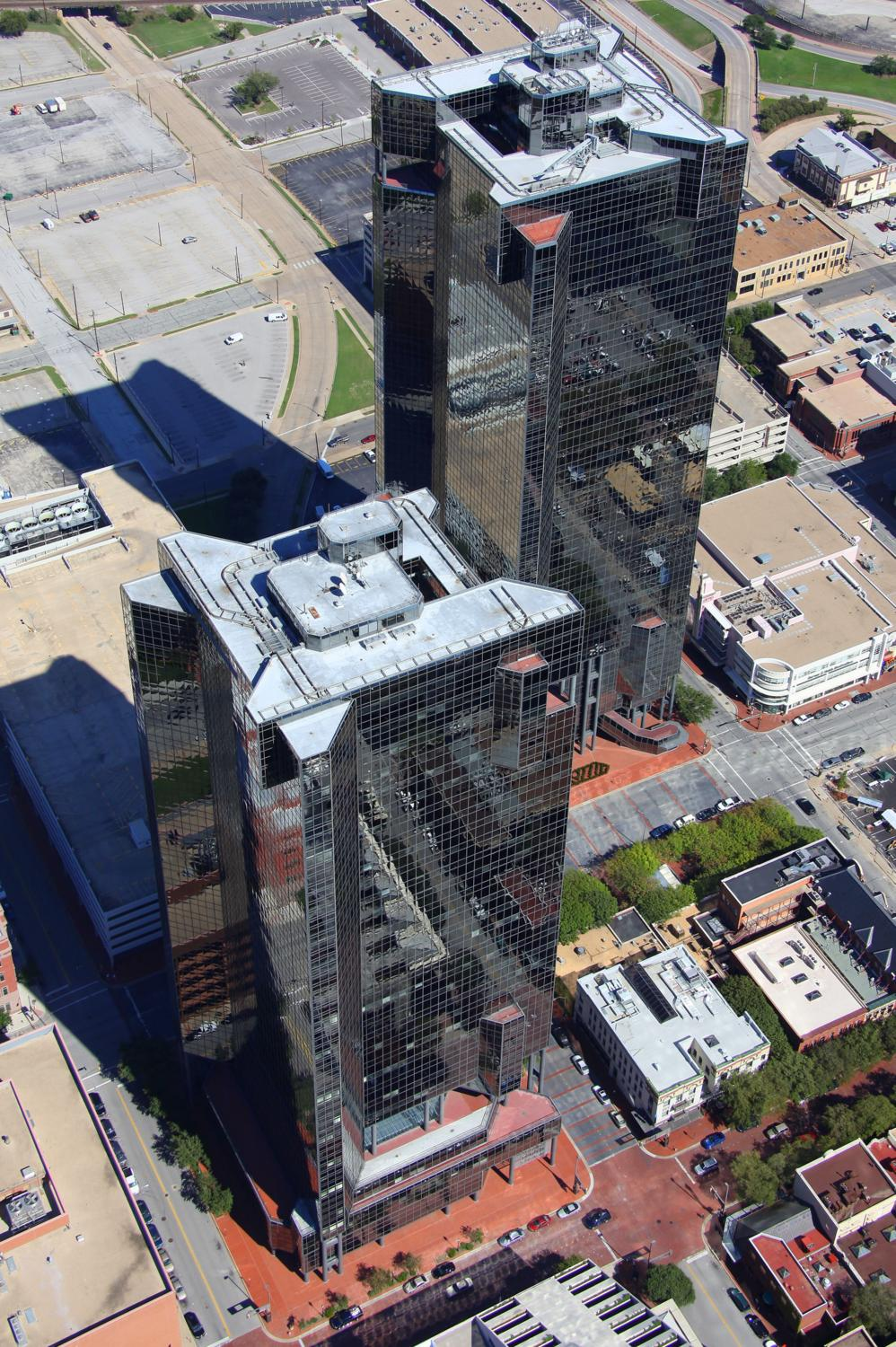 Downtown CBD, Fort Worth, Texas - Fort Worth Aerial Photography - Fort Worth Real Estate Photography - Fort Worth, TX