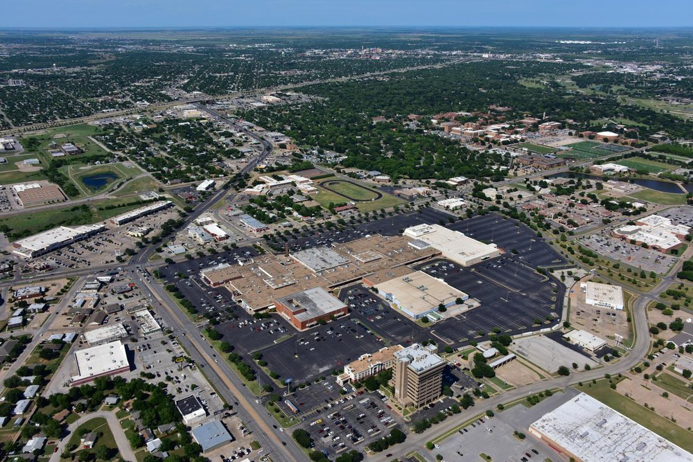 Sikes Senter Mall, Wichita Falls, Texas - Wichita Falls Aerial Photographer - Wichita Falls Aerial Drone Image - Aerial Drone Video - Wichita Falls, TX - North Texas