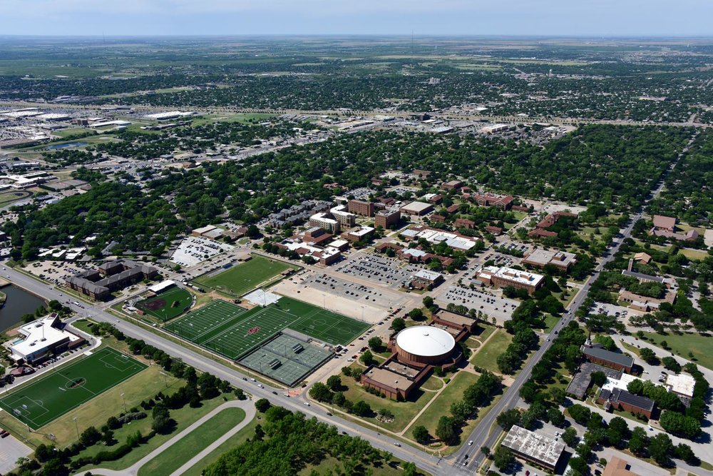 Midwestern State University, Wichita Falls, Texas - Wichita Falls Aerial Photographer - Wichita Falls Aerial Drone Image - Aerial Drone Video - Wichita Falls, TX - North Texas