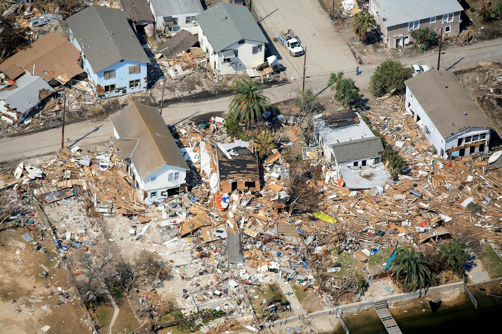 Drone Photograph , Corpus Christi, Texas - Corpus Christi Aerial Photography - Insurance Claim Photography - Hurricane Damage Inspection