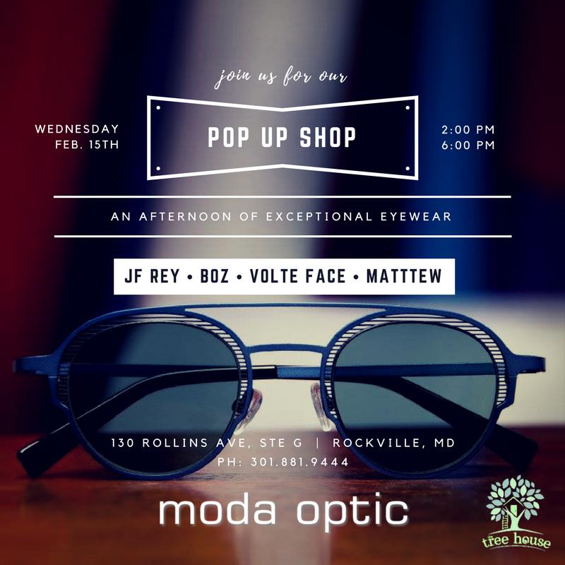 Pop Up Shop - JF Rey, Boz, Volte Face, Matttew - Social Media - Moda Optic