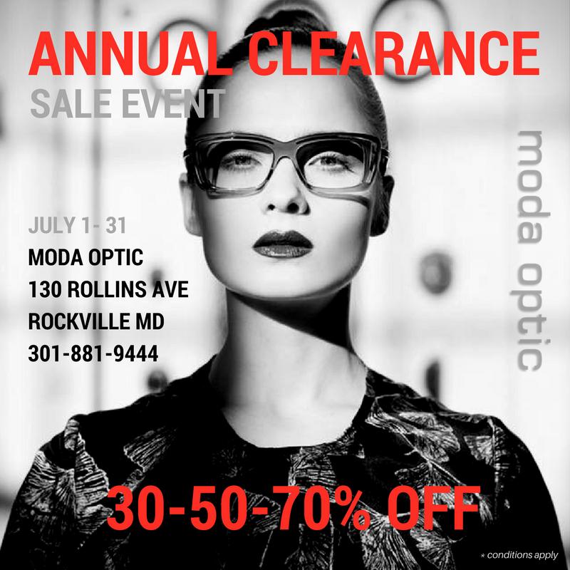 Annual Clearance - Moda Optic - Social Media - Moda Optic