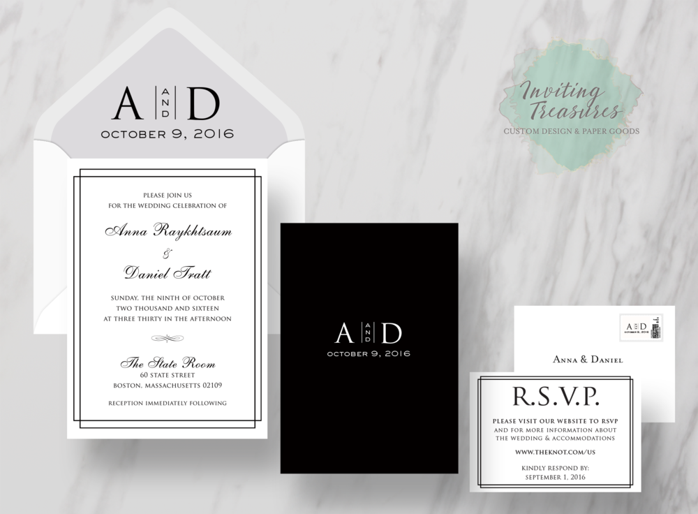 Classic Design Invitation