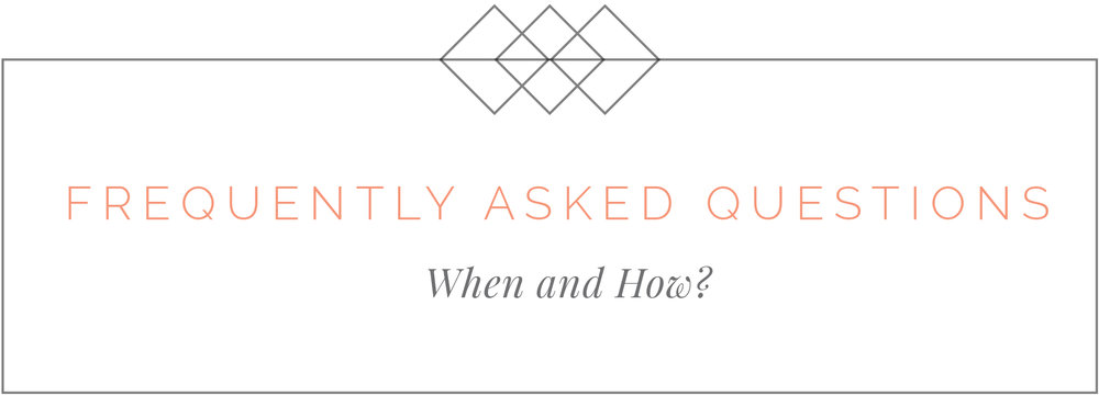 Frequently Asked Questions about Invitations