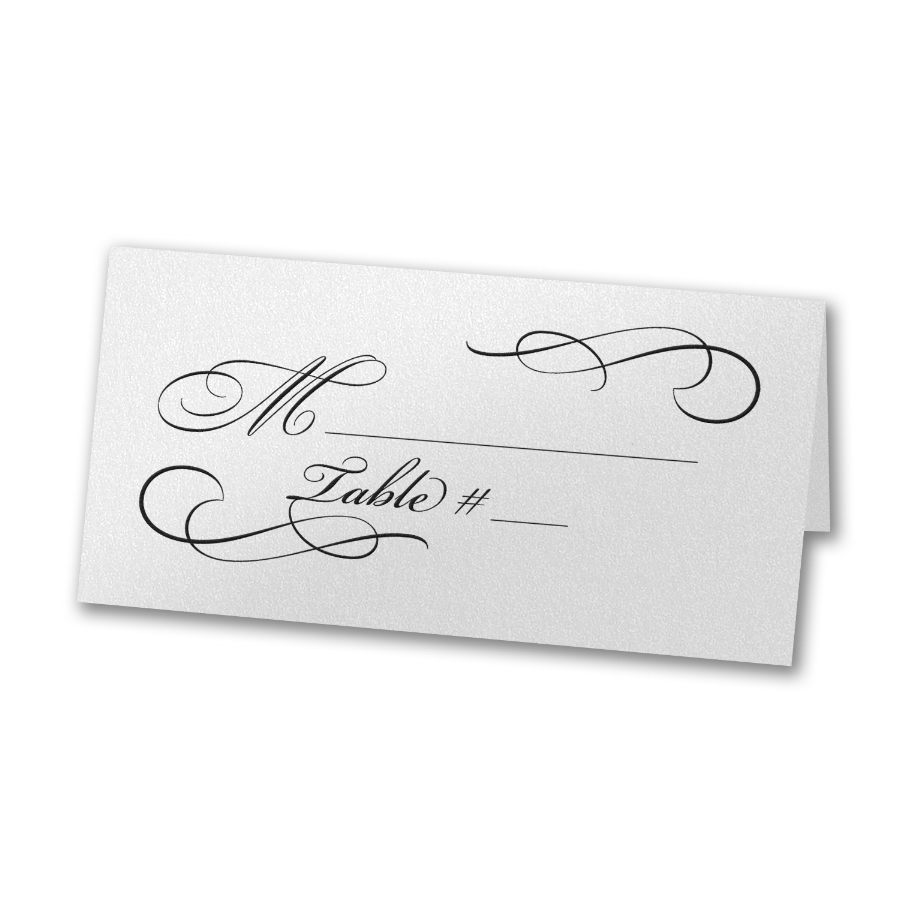 Place Cards - Inviting Treasures