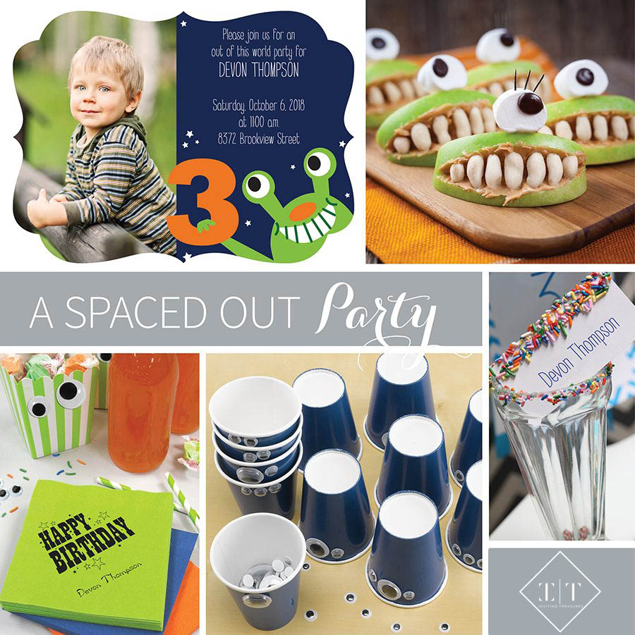 Children Space Party Theme