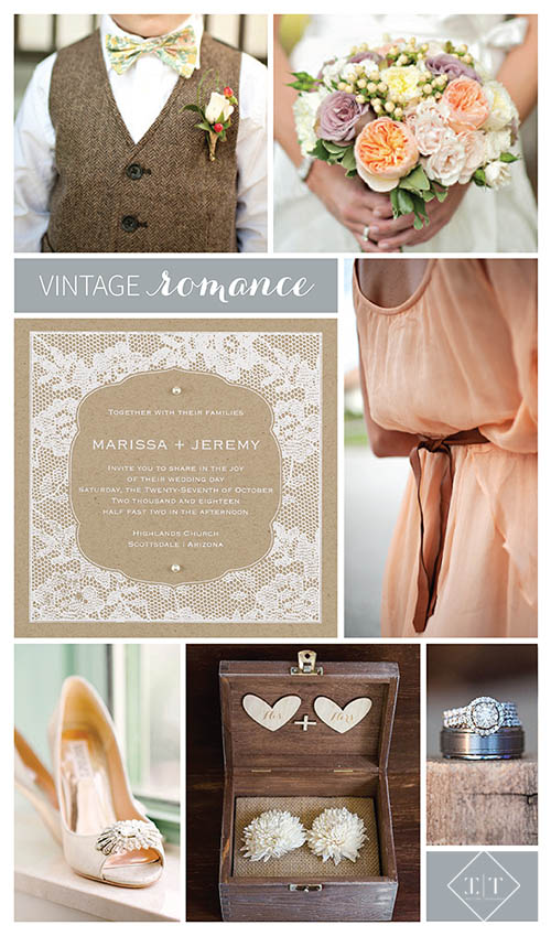 Get inspired by vintage romance
