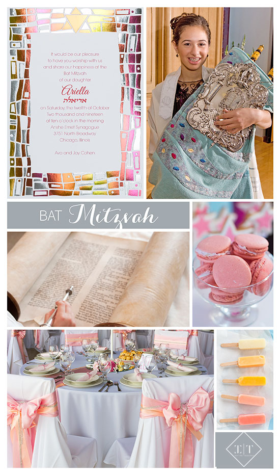 3 ways to add color to Bat Mitzvah