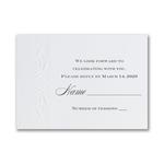 Shimmer Elegance - Respond Card