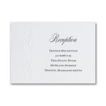 Shimmer Elegance Reception Card