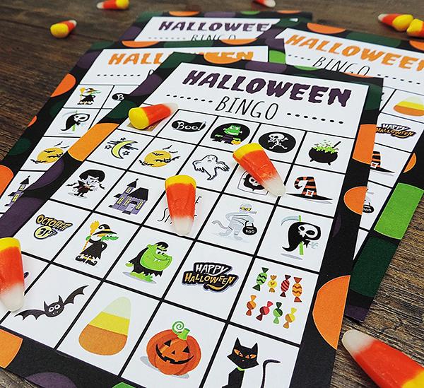 Halloween Bingo Cards