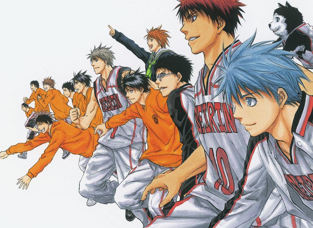 That's right,  Slam Dunk  hipsters. I said I like  Kuroko's Basketball .