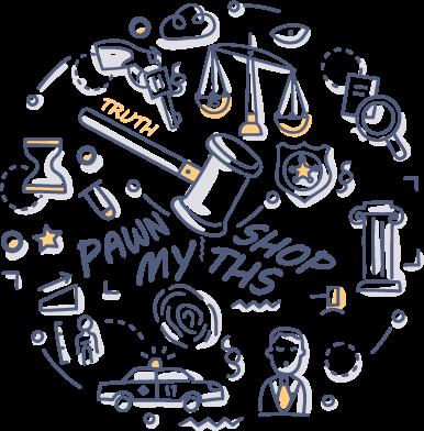 Pawn Shop myths doodle