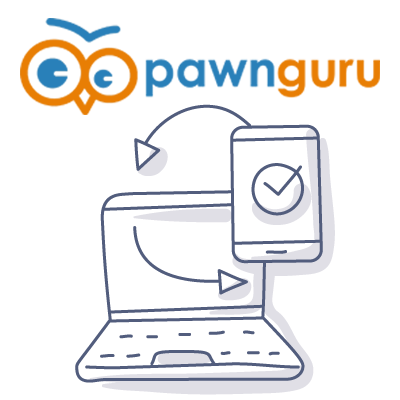 Pawn Guru mobile doodle
