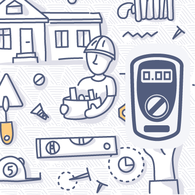 Test-Equipment doodle drawing