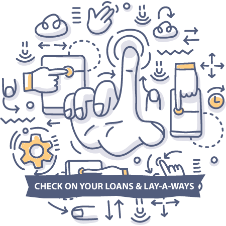 Check on your loans & lay-a-ways