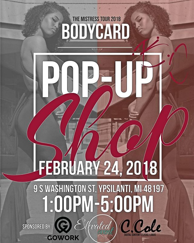 We are excited to sponsor and host @shopbodycard pop-up shop, Saturday the 24th. Come check out the goods and see what they have in store! #downtownypsi #shopbodycard  #ypsireal