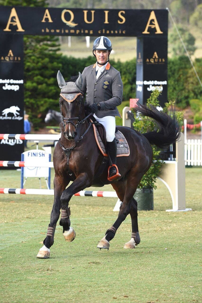 Shane Davidson - World Cup Show Jumper