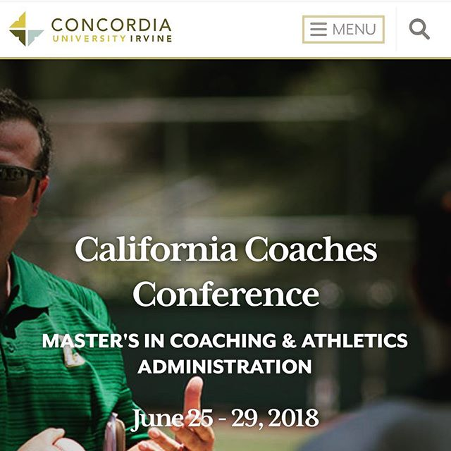 "Today wraps up an exciting week of teaching and learning😁 I was presented with an opportunity to teach the theory and practical application of sprint mechanics at Concordia University's California Coaches Conference. 😮 (milestone  8 for last b-day year was to present at a professional education conference)  None of this would have been possible without the boundless energy of my incredible wife, who not only managed to secure a teaching slot, but also helped me collect and organize my ideas. Also, big thank you to @ericengland17 for being the demo!  Large group settings tend to be a bit of a mismatch for my preferred communication style, which is more conversational and individualized for the listener. However, I took this on as a challenge to develop my skills as a more effective communicator👂🏾🎙Also, I love teaching Track and Field!! The last few days leading up to the talk were akin to slowly climbing the incline of a new HUGE🎢. As the fear mounted, part of my brain started in with ""this was a terrible idea, I don't want to die!"" But I hit ⏸ on the negative talk and and took a giant emotional/mental step back for perspective (just like I teach my students)🤫 Sure enough, when I purposefully set aside the self doubt and fear of impending doom, I was able to view the situation from a more enjoyable and healthy perspective. Turns out presentation day was incredible, just like the roller coaster😁. I was able to nerd out 🤓answering questions and teaching what I've spent 2/3rds of my life researching, studying, testing, and applying. I did my absolute best to share with the class as richly and openly as my friends and mentors have shared with me. I was even able to go back and learn from other outstanding professionals!  The class gave me an A+ review. Did I perform as well as I think I should have? No. We've already identified three major points to work on. But now that it's over, I am already preparing for our next opportunity📓💻🏋🏾‍♂️📝 - - - - - #trackandfield #concordiauniversity #coaching #sprinttechnique #sprintmechanics #sprintacademy #publicspeaking #coacheseducation #sprinter #hurdles #jumpers #teachtrackandfield"
