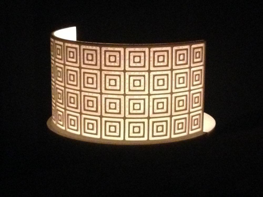 Lantern in Corian