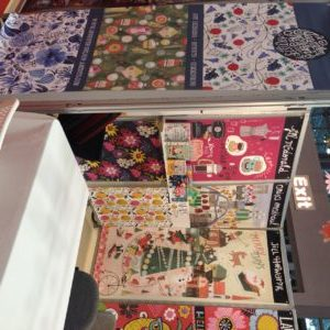 Jennifer nelson Artists stunning surtex booth